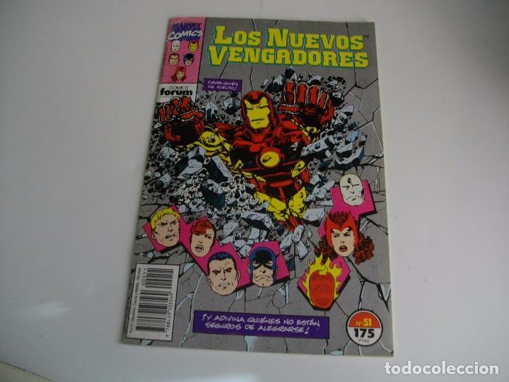 COMICS - LOS NUEVOS VENGADORES Nº 51 - EL DE LAS FOTOS - VER TODOS MIS LOTES DE TEBEOS (Tebeos y Comics - Forum - Vengadores)