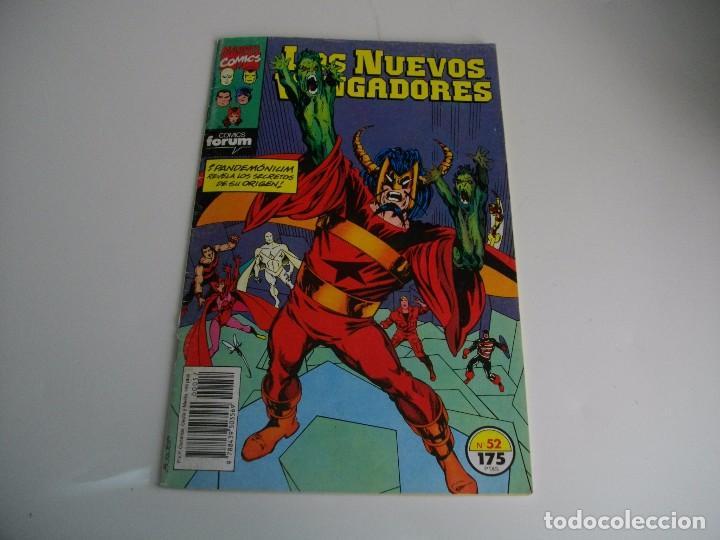 COMICS - LOS NUEVOS VENGADORES Nº 52 - EL DE LAS FOTOS - VER TODOS MIS LOTES DE TEBEOS (Tebeos y Comics - Forum - Vengadores)