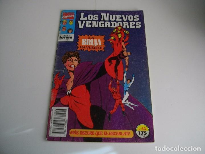 COMICS - LOS NUEVOS VENGADORES Nº 53 - EL DE LAS FOTOS - VER TODOS MIS LOTES DE TEBEOS (Tebeos y Comics - Forum - Vengadores)