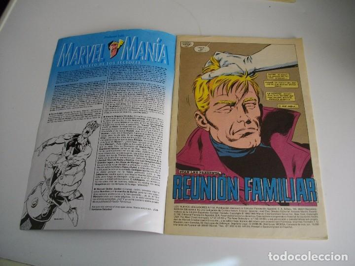 Cómics: COMICS - LOS NUEVOS VENGADORES Nº 54 - EL DE LAS FOTOS - VER TODOS MIS LOTES DE TEBEOS - Foto 2 - 105159283