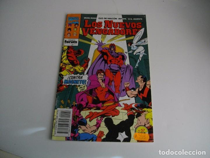COMICS - LOS NUEVOS VENGADORES Nº 57 - EL DE LAS FOTOS - VER TODOS MIS LOTES DE TEBEOS (Tebeos y Comics - Forum - Vengadores)