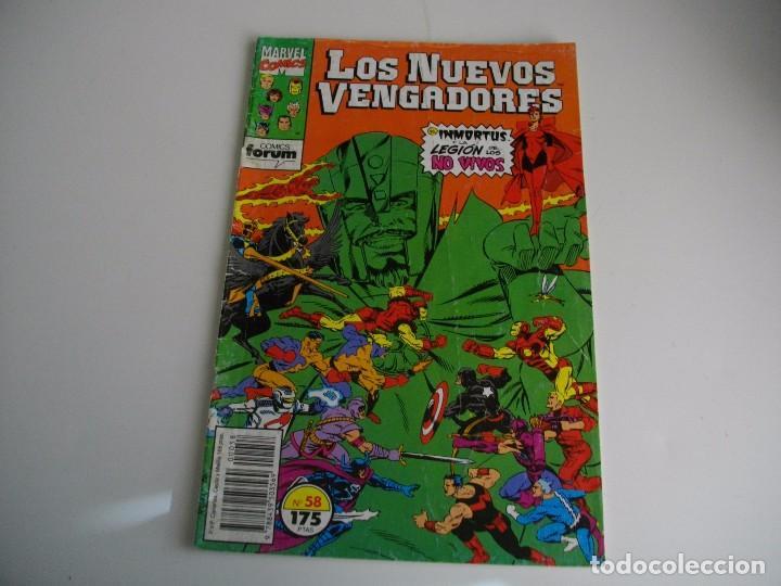 COMICS - LOS NUEVOS VENGADORES Nº 58 - EL DE LAS FOTOS - VER TODOS MIS LOTES DE TEBEOS (Tebeos y Comics - Forum - Vengadores)