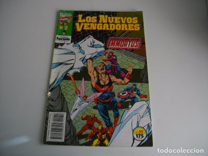 COMICS - LOS NUEVOS VENGADORES Nº 59 - EL DE LAS FOTOS - VER TODOS MIS LOTES DE TEBEOS (Tebeos y Comics - Forum - Vengadores)