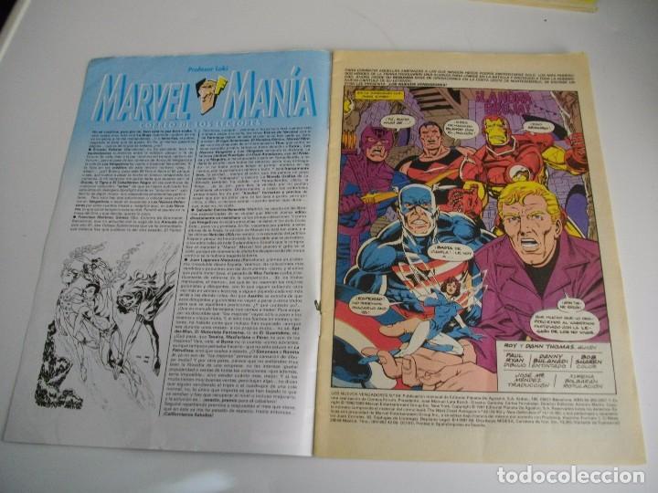 Cómics: COMICS - LOS NUEVOS VENGADORES Nº 59 - EL DE LAS FOTOS - VER TODOS MIS LOTES DE TEBEOS - Foto 2 - 105159687