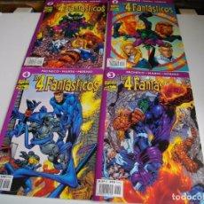 Cómics: LOTE DE 4 COMICS - LOS 4 FANTASTICOS Nº 1--2 --3--Y 4 - LOS DE LAS FOTOS - VER TODOS MIS LOTES DE T. Lote 105160007