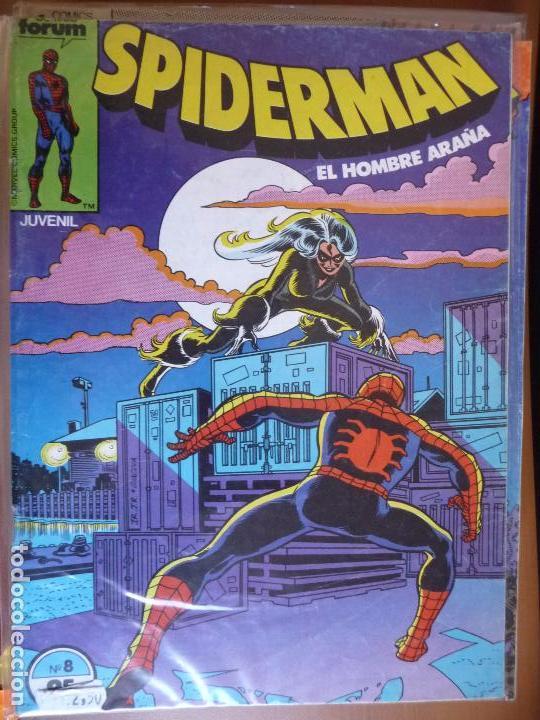 SPIDERMAN. VOL 1. Nº 8. FORUM (Tebeos y Comics - Forum - Spiderman)