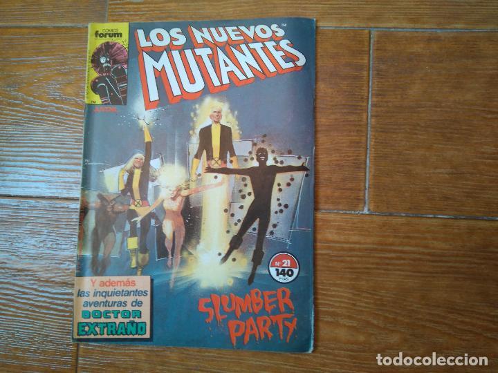 NUEVOS MUTANTES Nº 21 EDICIONES FORUM (Tebeos y Comics - Forum - Nuevos Mutantes)