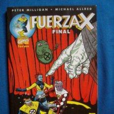 Cómics: TOMO FUERZA X FINAL PETER MILLIGAN Y MICHAEL ALFRED FORUM. Lote 105243691