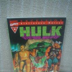 Cómics: HULK Nº 4 - BIBLIOTECA MARVEL. Lote 105245855