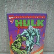 Cómics: HULK Nº 8 - BIBLIOTECA MARVEL. Lote 105245951
