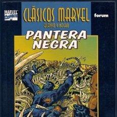 Cómics: PANTERA NEGRA, 1 (DON MCGREGOR, BILLY GRAHAM) / CLÁSICOS MARVEL BLANCO Y NEGRO, 7 – FORUM, 11/1999. Lote 105430279