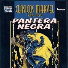 Cómics: PANTERA NEGRA, 2 (DON MCGREGOR, BILLY GRAHAM) / CLÁSICOS MARVEL BLANCO Y NEGRO, 14 – FORUM, 12/2002. Lote 105455439