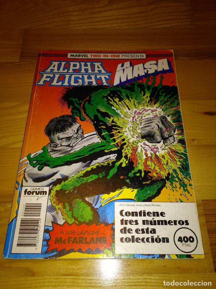 COMIC RETAPADO ALPHA FLIGHT + LA MASA HULK FORUM PLANETA 51 AL 53 (Tebeos y Comics - Forum - Alpha Flight)