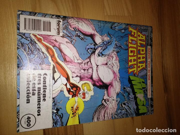 COMIC RETAPADO ALPHA FLIGHT + LA MASA HULK FORUM PLANETA 48 AL 50 (Tebeos y Comics - Forum - Alpha Flight)