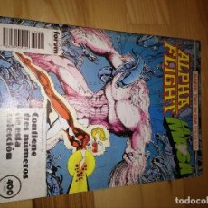 Cómics: COMIC RETAPADO ALPHA FLIGHT + LA MASA HULK FORUM PLANETA 48 AL 50. Lote 105513347