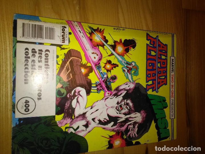 COMIC RETAPADO ALPHA FLIGHT + LA MASA HULK FORUM PLANETA 45 AL 47 (Tebeos y Comics - Forum - Alpha Flight)