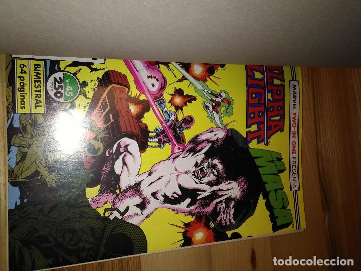 Cómics: Comic Retapado Alpha Flight + La Masa Hulk Forum Planeta 45 al 47 - Foto 2 - 105513595
