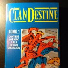 Cómics: CLANDESTINE - RETAPADO 1-9. Lote 105604687
