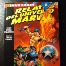 Cómics: RELATOS DEL UNIVERSO MARVEL #1 - LOS INVASORES (STERN, EPTING, WILLIAMSON, PACHECO). Lote 105605087