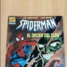 Cómics: SPIDERMAN EL ORIGEN DEL CLON. J M DEMATTEIS, LIAM SHARP. ESPECIAL SPIDERMAN. W. Lote 105644371