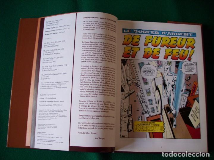 Cómics: SILVER SURFER - NÚMEROS U.S.A. 15,16,17,18 Y NOVELA GRÁFICA 1988 EN FRANCÉS - Foto 5 - 105649327