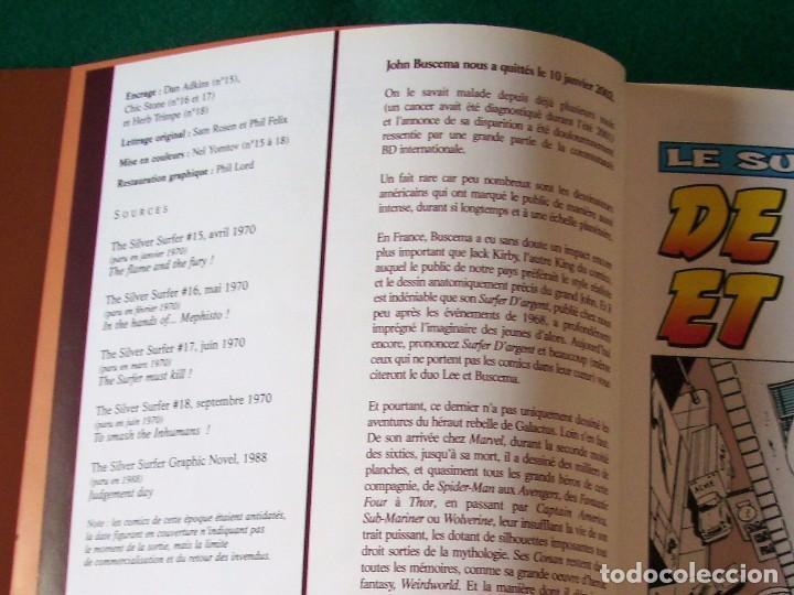 Cómics: SILVER SURFER - NÚMEROS U.S.A. 15,16,17,18 Y NOVELA GRÁFICA 1988 EN FRANCÉS - Foto 6 - 105649327