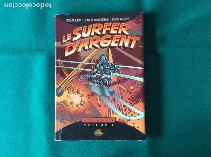 Cómics: SILVER SURFER - NÚMEROS U.S.A. 15,16,17,18 Y NOVELA GRÁFICA 1988 EN FRANCÉS - Foto 2 - 105649327