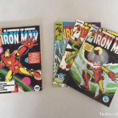 Cómics: LOTE IRON MAN. FORUM (1983). Lote 105754683