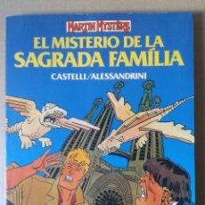Cómics: MARTIN MYSTÈRE: EL MISTERIO DE LA SAGRADA FAMILIA, DE CASTELLI Y ALESSANDRINI. FORUM / PLANETA, 1992. Lote 105799382