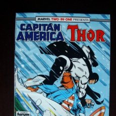 Cómics: CAPITAN AMÉRICA VOL. 1 Nº 63 MARVEL TWO-IN-ONE CON THOR (FORUM). Lote 105828635