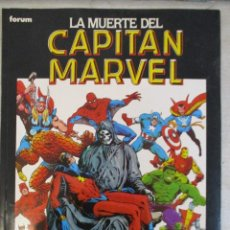 Cómics: LA MUERTE DEL CAPITAN MARVEL JIM STARLIN FORUM. Lote 105834935