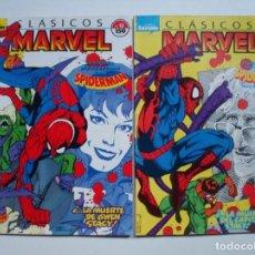 Cómics: CLASICOS MARVEL Nº 12 Y 13 (SPIDERMAN LA MUERTE DEL CAPITÁN STACY) FORUM. Lote 105957355