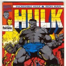 Cómics: INCREDIBLE HULK & IRON MAN 1 HULK & IRON MAN 1. Lote 105989595