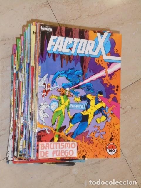 FACTOR X VOL. 1 COMPLETA 94 NUMS. + 8 ESPECIALES - FORUM OFERTA (Tebeos y Comics - Forum - Factor X)