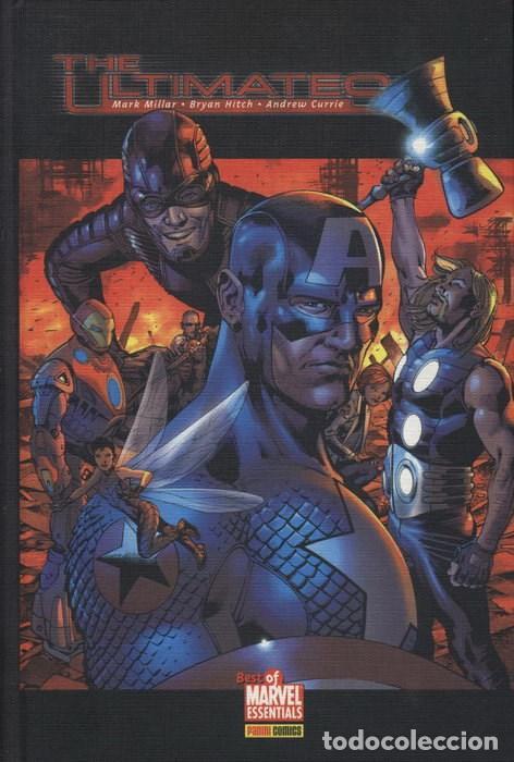 THE ULTIMATES TOMO 2 - BEST OF MARVEL ESSENTIALS - MARK MILLAR - PERFECTO ESTADO (Tebeos y Comics - Forum - Vengadores)