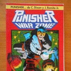 Cómics: PUNISHER - WAR ZONE - ZONA DE GUERRA - JOHN ROMITA JR. - FORUM - LEER DESCRIPCION (8J). Lote 106062427