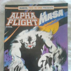 Cómics: ALPHA FLIGHT / LA MASA N°41, COMICS FORUM. Lote 106066478