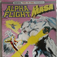 Cómics: ALPHA FLIGHT / LA MASA N°40, COMICS FORUM. Lote 106066690