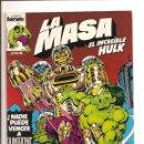 Cómics: LA MASA - EL INCREIBLE HULK - COMICS FORUM - Nº 2 1983 - PERFECTO ESTADO + FUNDA PROTECCION. Lote 106164519