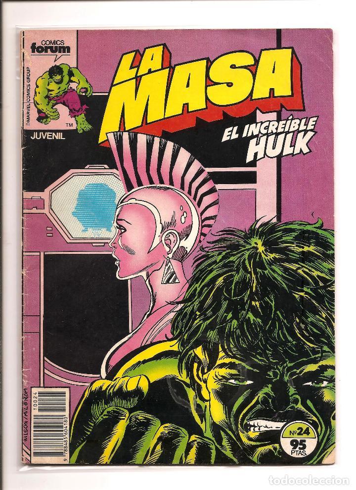 LA MASA - EL INCREIBLE HULK - COMICS FORUM - Nº 24 - BUEN ESTADO + FUNDA PROTECCION (Tebeos y Comics - Forum - Hulk)