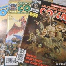 Cómics: 3 TEBEOS DE CONAN. Lote 106236911
