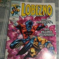 Cómics: LOBEZNO - VOL 2 N.º 51 - FORUM - DOS HOMBRES X DOS VILLANOS PELIGROSOS. Lote 106536583