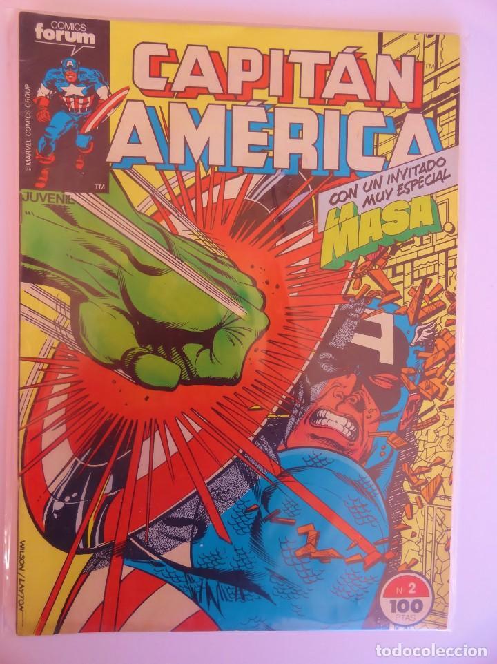 CAPITÁN AMÉRICA VOLUMEN 1 FORUM NÚMERO 2. 100 PTAS. ABRIL 1985. 32 PÁG. (Tebeos y Comics - Forum - Capitán América)