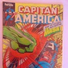 Cómics: CAPITÁN AMÉRICA VOLUMEN 1 FORUM NÚMERO 2. 100 PTAS. ABRIL 1985. 32 PÁG.. Lote 106610659
