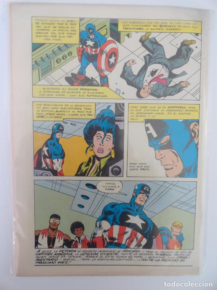 Cómics: CAPITÁN AMÉRICA VOLUMEN 1 FORUM NÚMERO 2. 100 PTAS. ABRIL 1985. 32 PÁG. - Foto 2 - 106610659