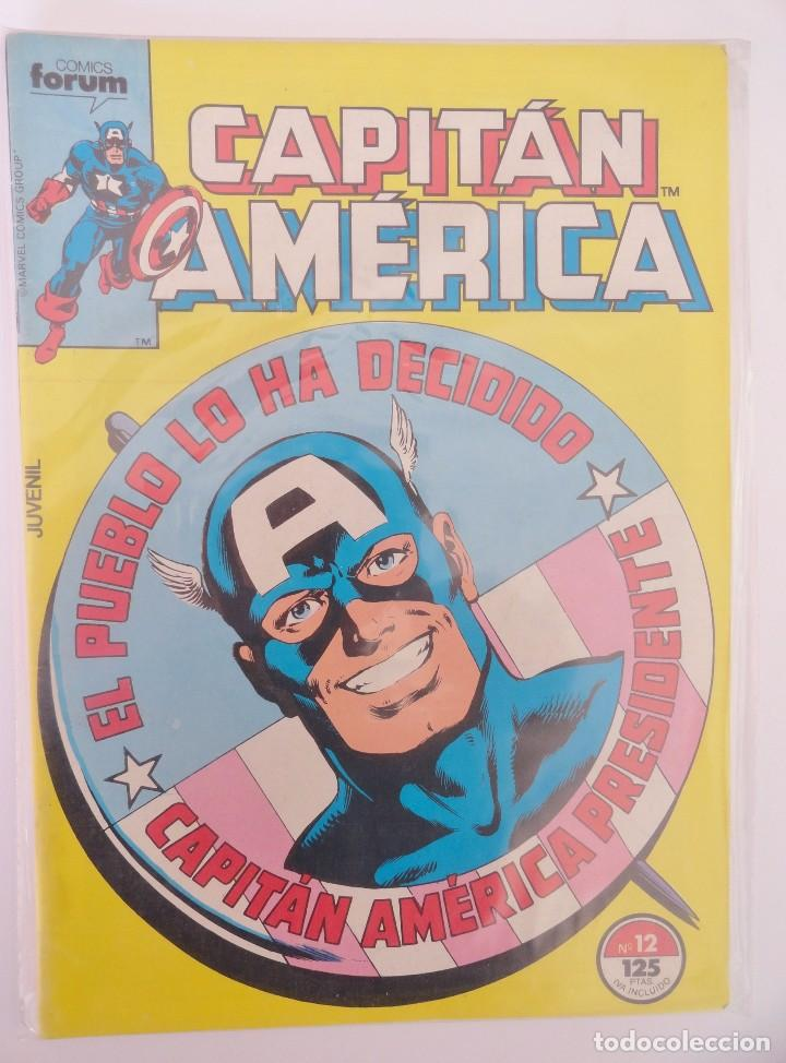Cómics: CAPITÁN AMÉRICA VOLUMEN 1 FORUM NÚMERO 12. 125 PTAS. ENERO 1986. 32 PÁG. - Foto 2 - 106613991