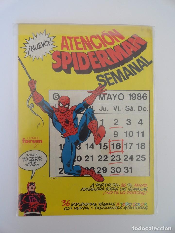 Cómics: CAPITÁN AMÉRICA VOLUMEN 1 FORUM NÚMERO 17. 125 PTAS. JUNIO 1986. 32 PÁG. - Foto 2 - 106614443