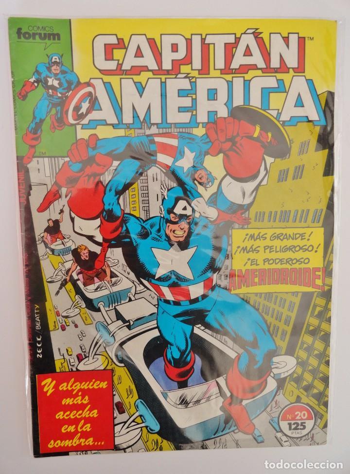 CAPITÁN AMÉRICA VOLUMEN 1 FORUM NÚMERO 20. 125 PTAS. SEPTIEMBRE 1986. 32 PÁG. (Tebeos y Comics - Forum - Capitán América)