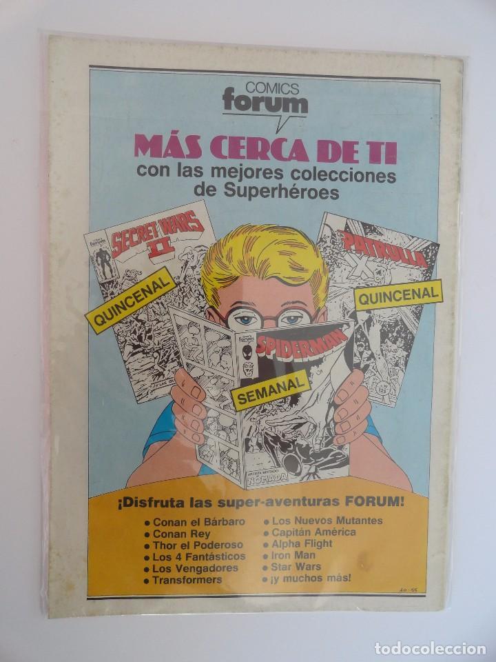 Cómics: CAPITÁN AMÉRICA VOLUMEN 1 FORUM NÚMERO 20. 125 PTAS. SEPTIEMBRE 1986. 32 PÁG. - Foto 2 - 106622107