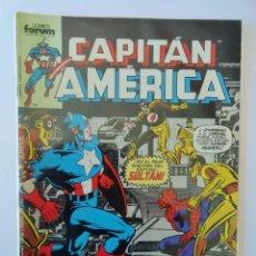 Cómics: CAPITÁN AMÉRICA VOLUMEN 1 FORUM NÚMERO 22. 125 PTAS. NOVIEMBRE 1986. 32 PÁG.. Lote 106658087